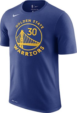 Warriors Dri-Fit Tee Curry Rush Blue/Curry Stephen