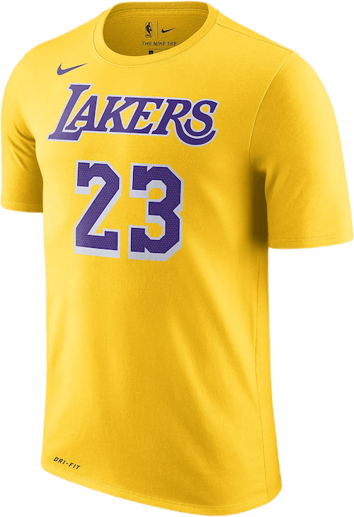 Lakers Dri-Fit Tee James Amarillo/James Lebron