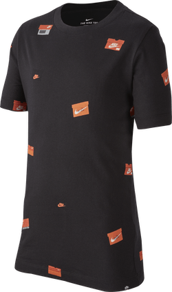 Sportswear Kids Tee Black