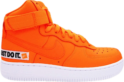 Wmns Air Force 1 Hi Lx Lthr Total Orange/Total Orange-White