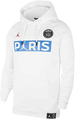 Jordan X Psg Hoodie White/University Red