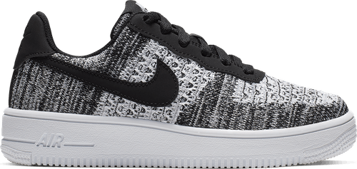 Air Force 1 Flyknit 2.0 (Gs) Black/Pure Platinum-White-White