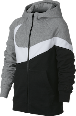 Boys Nsw Hbr Hoodie Dk Grey Heather/Black/White/Black