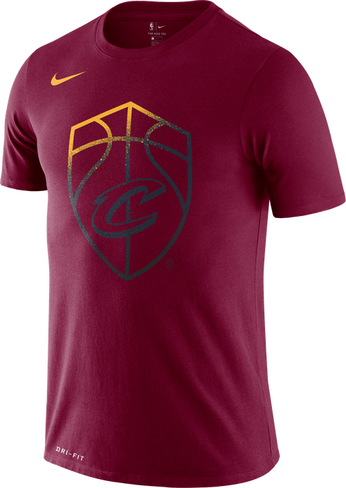 Cavs Dry Tee Team Red
