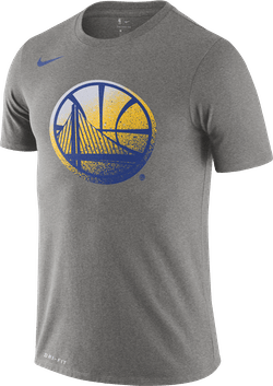 Warriors Dry Tee Dk Grey Heather