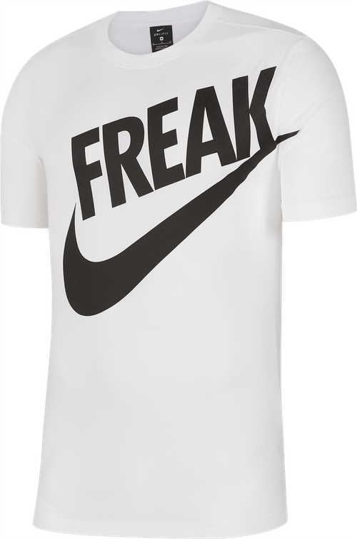 Giannis Freak Dri-Fit Tee White
