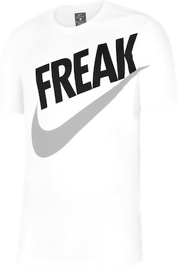 "Dri-Fit Giannis ""Freak"" White/Black"