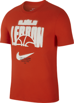 Dri-Fit Lebron Tee Team Orange/Team Orange