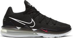 Lebron Xvii Low Black/White-Multi-Color