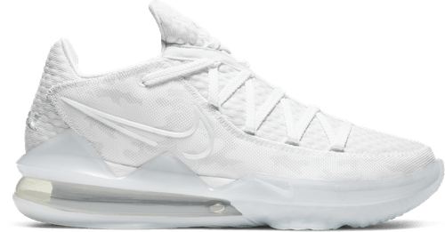Lebron Xvii Low - White Camo White/Pure Platinum