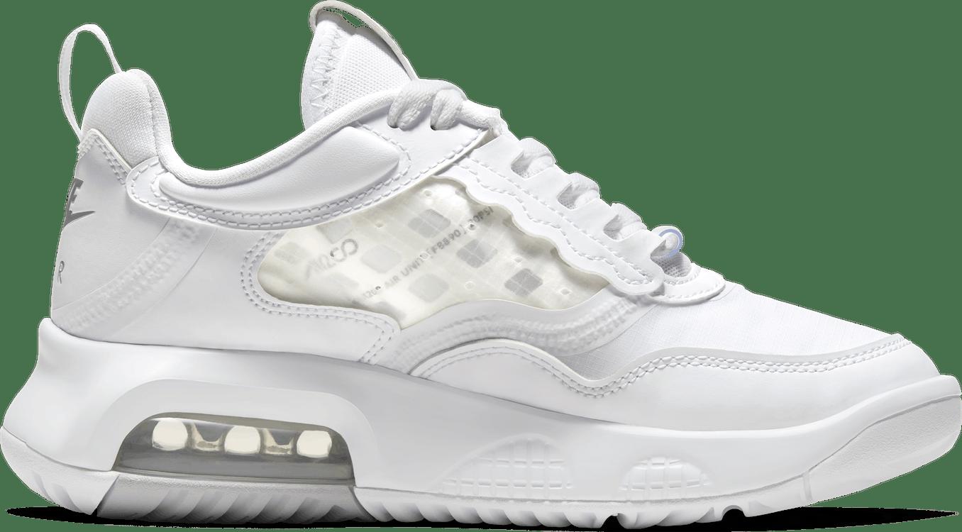 Air Max 200 (Gs) White/Metallic Silver