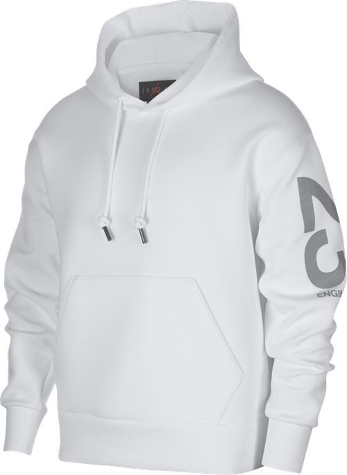 23 Engineered Hoodie White/White