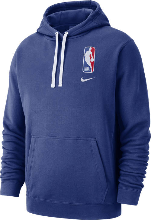 Nba Logo Hoodie Courtside Rush Blue
