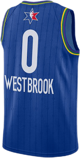 All-Star Jersey Westbrook Rush Blue/Westbrook Rssll