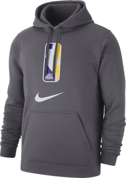 Nba Logo Hoodie Team 31 Dk Grey Heather