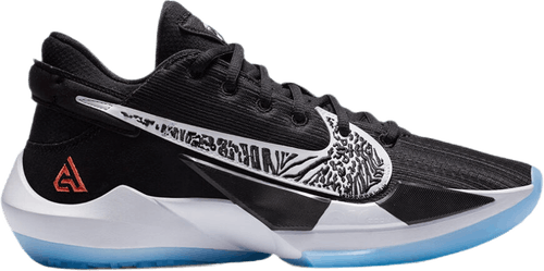 Zoom Freak 2 Black/White-Off Noir-Solar Flare