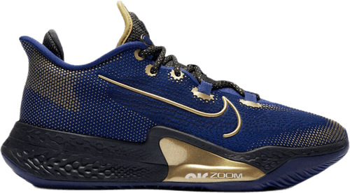 Air Zoom Bb Nxt Blue Void/Mtlc Gold Coin-Black