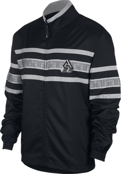 Giannis Tracksuit Jkt Black/White/Lt Smoke Grey/White