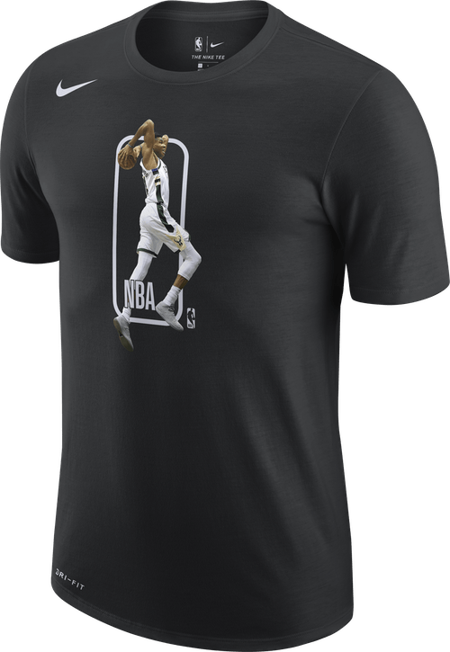 Bucks Player Logo Black/Antetokounmpo G