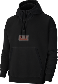 23 Engineered Hoodie Black