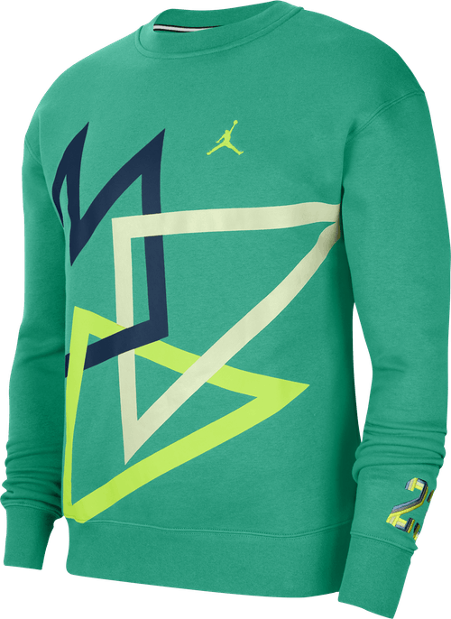 Sport Dna Fleece Crew Neptune Green