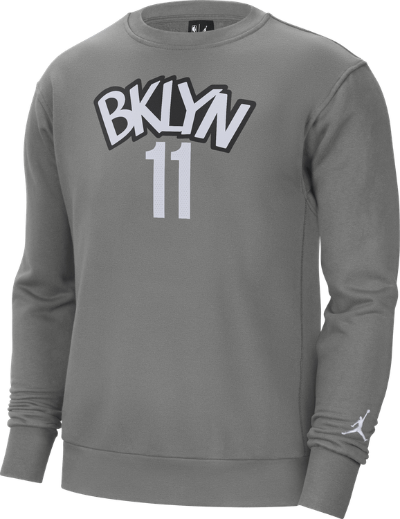 Nets Statement Edition Crew Kyrie Dark Steel Grey/White/Irving Kyrie