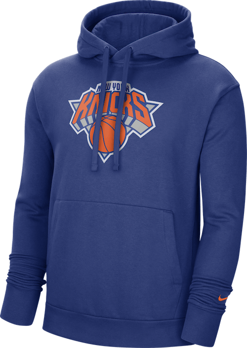 Knicks Essential Hoodie Rush Blue/Brilliant Ornge