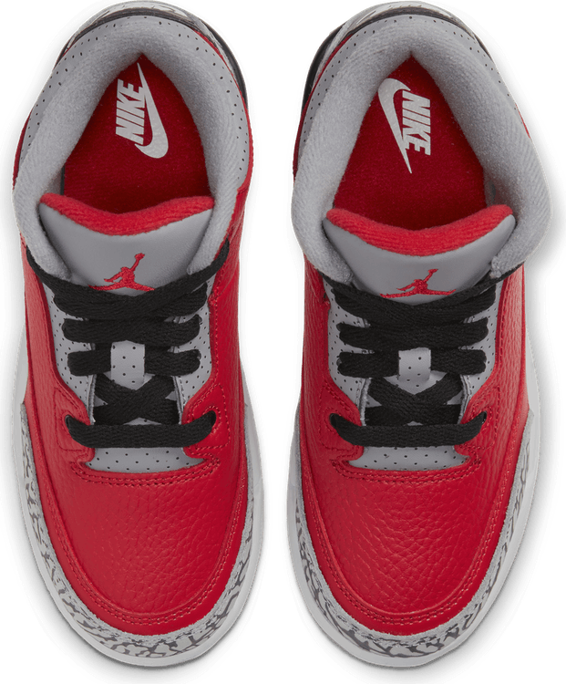Iii Retro (Ps) - Red Cement Fire Red/Fire Red-Cement Grey-Black