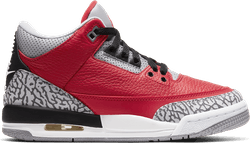 Air Jordan III Retro (Gs) - Red Cement Fire Red/Fire Red-Cement Grey-Black