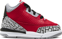 Iii Retro (Td) - Red Cement Fire Red/Fire Red-Cement Grey-Black