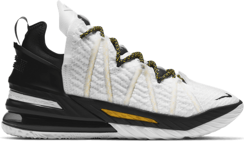 Lebron Xviii White/amarillo-black