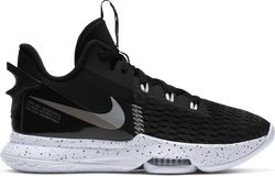 Lebron Witness V Black/metallic Silver-white