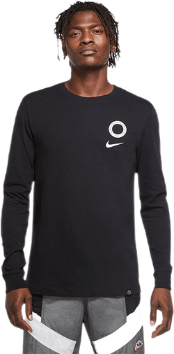 Nigeria Long-Sleeve Voice Tee Black