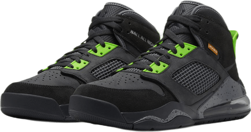 Mars 270 Anthracite/Black-Electric Green