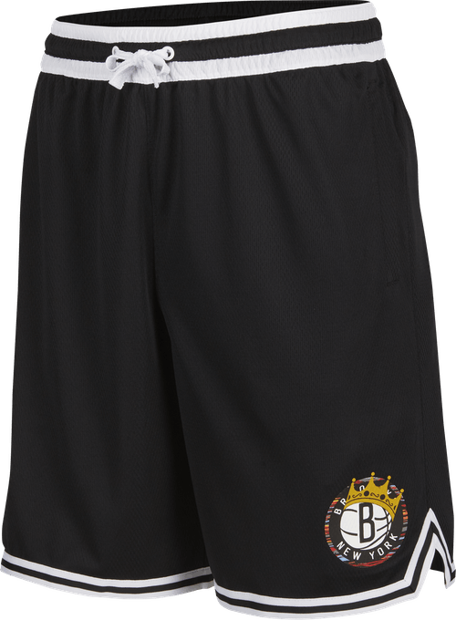 Brooklyn Nets Dna Bigge Shorts Black/White/Black/White