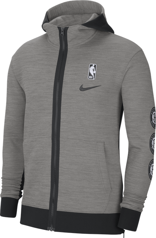 Nets Showtime Dk Grey Heather/Dark Steel Grey/Black
