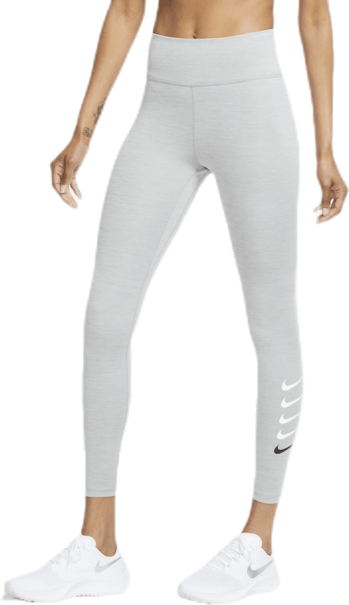 Women'S Swoosh Run 7/8 Leggings Particle Grey/Reflective Silv
