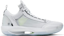 Air Jordan Xxxiv Low - Pure Money White/Metallic Silver-Pure Platinum