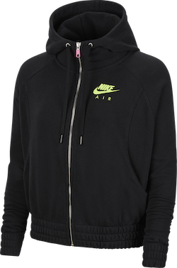 Women'S Nsw Air Hoodie Black/Volt
