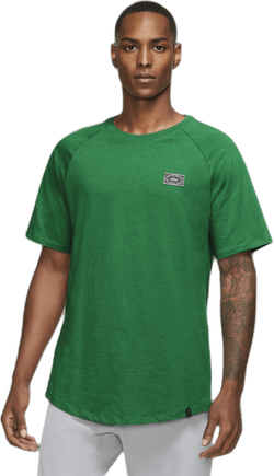 Nigeria Travel Tee Pine Green