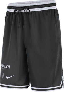 Nets Courtside Shorts Black/White/Black