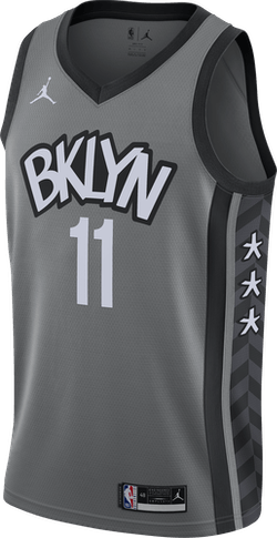 Nets Statement Edition 2020 Kyrie Dark Steel Grey/Black/Irving Kyrie