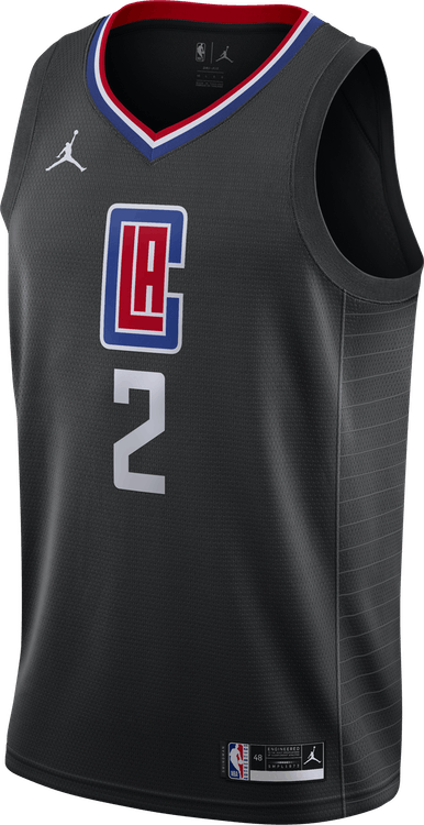 Clippers Statement Edition 2020 Kawhi Leonard Black/University Red/Leonard Kawhi