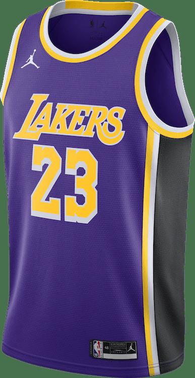 Lakers Statement Edition 2020 Lebron James Field Purple/James Lebron