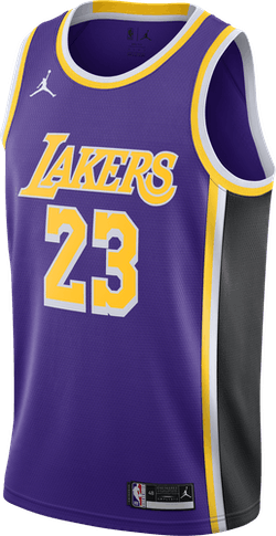 Lakers Statement Edition 2020 Lebron James Field Purple/James Lebron