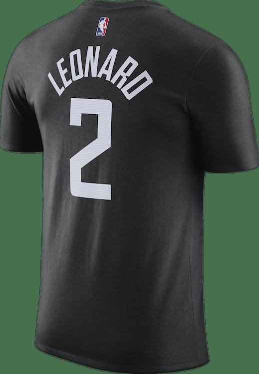 Clippers Statement Edition Tee Kawhi Leonard Black/Leonard Kawhi