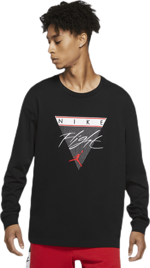Flight Longsleeve Tee Black