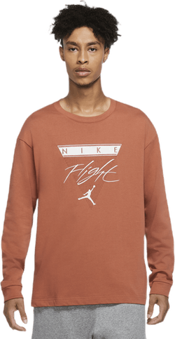 Flight Longsleeve Tee Dusty Peach