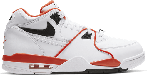 Air Flight 89 - Emb White/Black-Team Orange