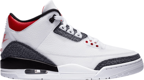 Air Jordan III Retro Se White/Fire Red-Black